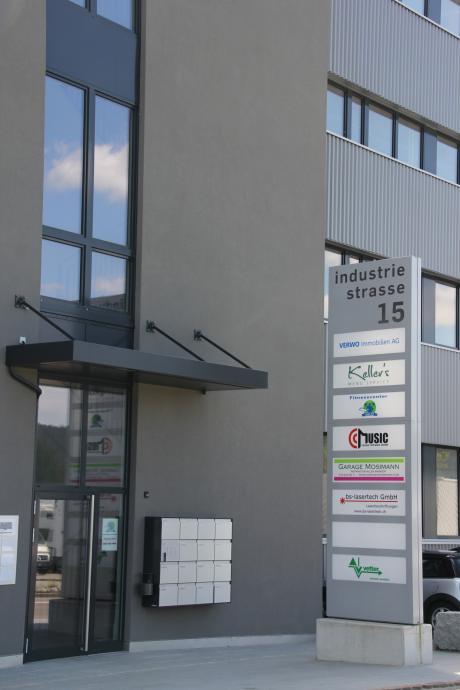 Firmensitz von bs-lasertech GmbH in Aadorf