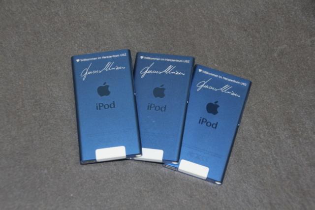 Eloxierte iPods mit Signatur